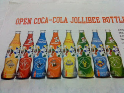 jollibee Coke UAAP bottles