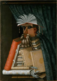 """""""El Bibliotecario"""" (c.1566, Skoklosters Slott, Suecia)"""