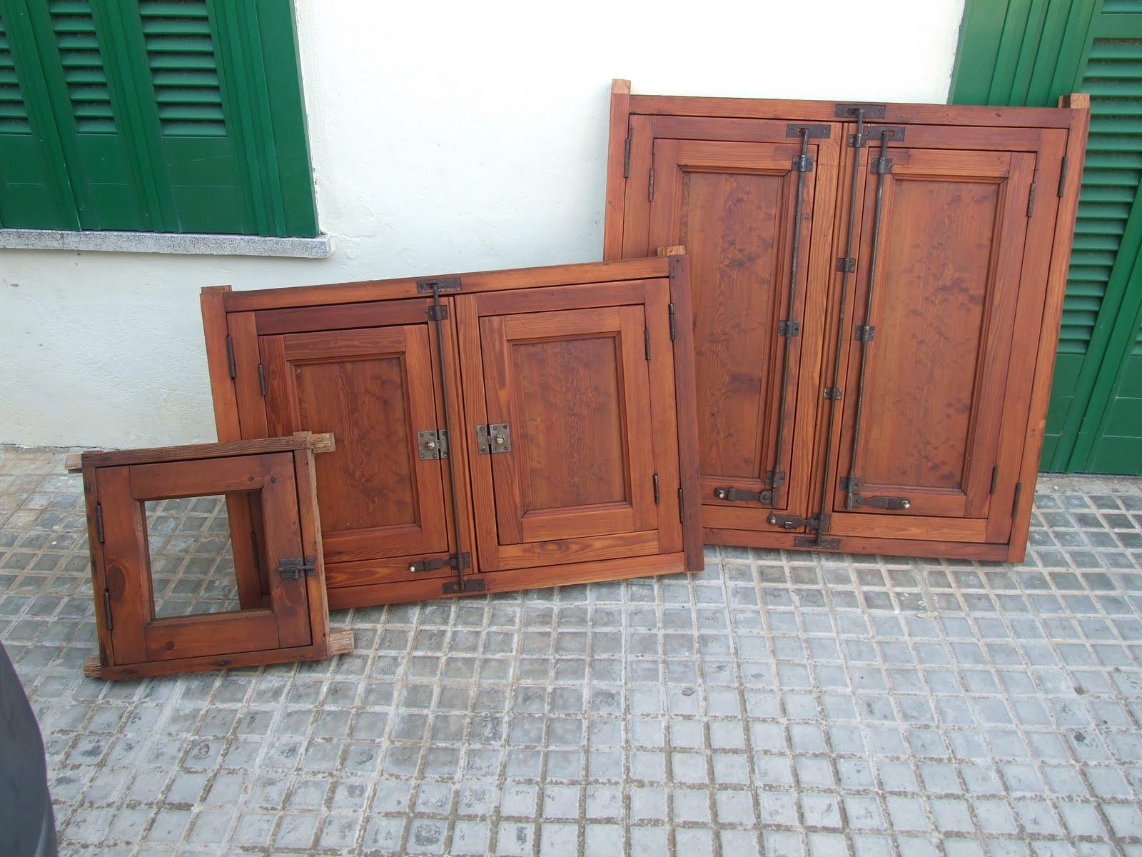 Ventana a lo escultórico: ventanas de madera del norte