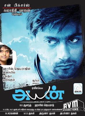 tamil film ayan video songs free download