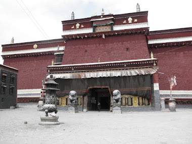 Tibet inside. Sakya Monastery