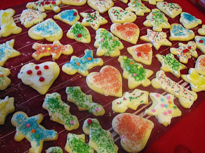 cut out sugar cookies - Betty Crocker Christmas Cookie Recipes