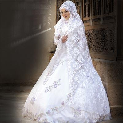Arab women wedding dress B