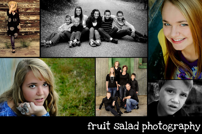 fruit salad photography