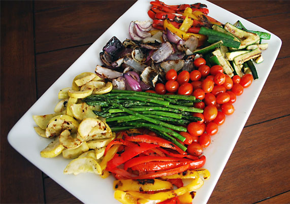 Simple Spice: Grilled Vegetable Salad