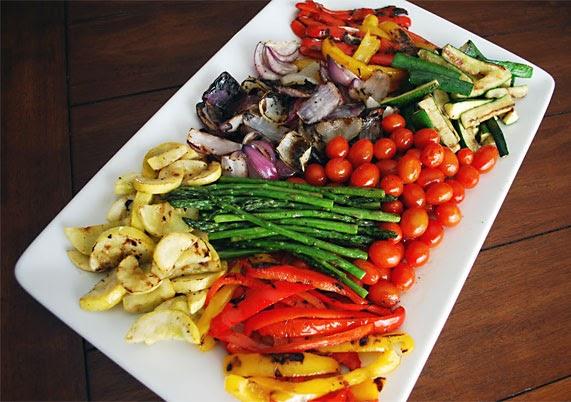 Simple Spice Grilled Vegetable Salad