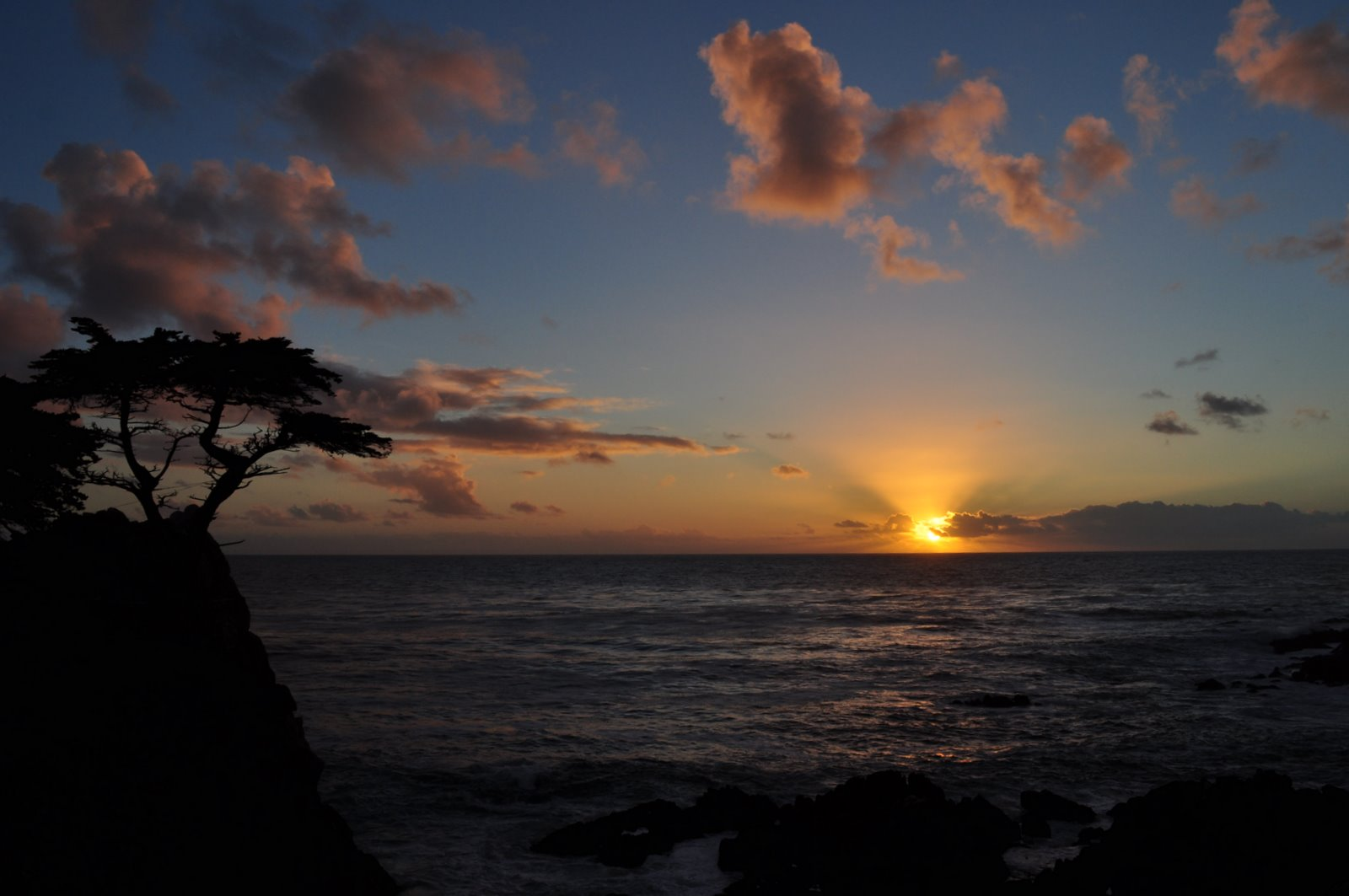 SunSet- The lone cypress- 17MileDrive | PhotoJourney
