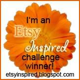 I Won the Etsy Inspired Challenge!