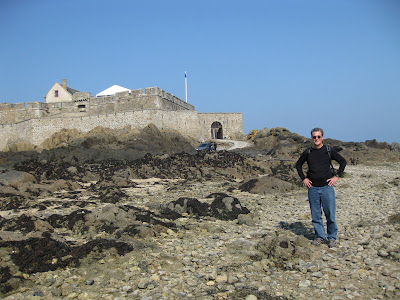 Squatting at the mouth of the River Rance, St Malo is famed for its ...