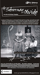 """teatro y la historia: """"de sobornar al olvido"""""""