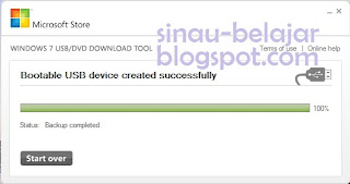 Membuat Bootable Windows 7 pada USB Flash Disk (UFD)