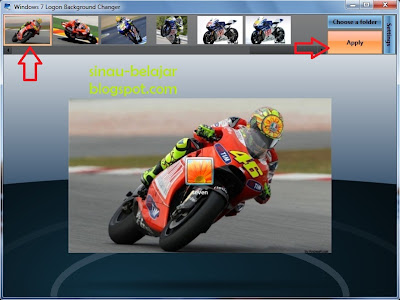 Ubah Gambar Background Logon Windows 7