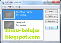 menambah virtual machine