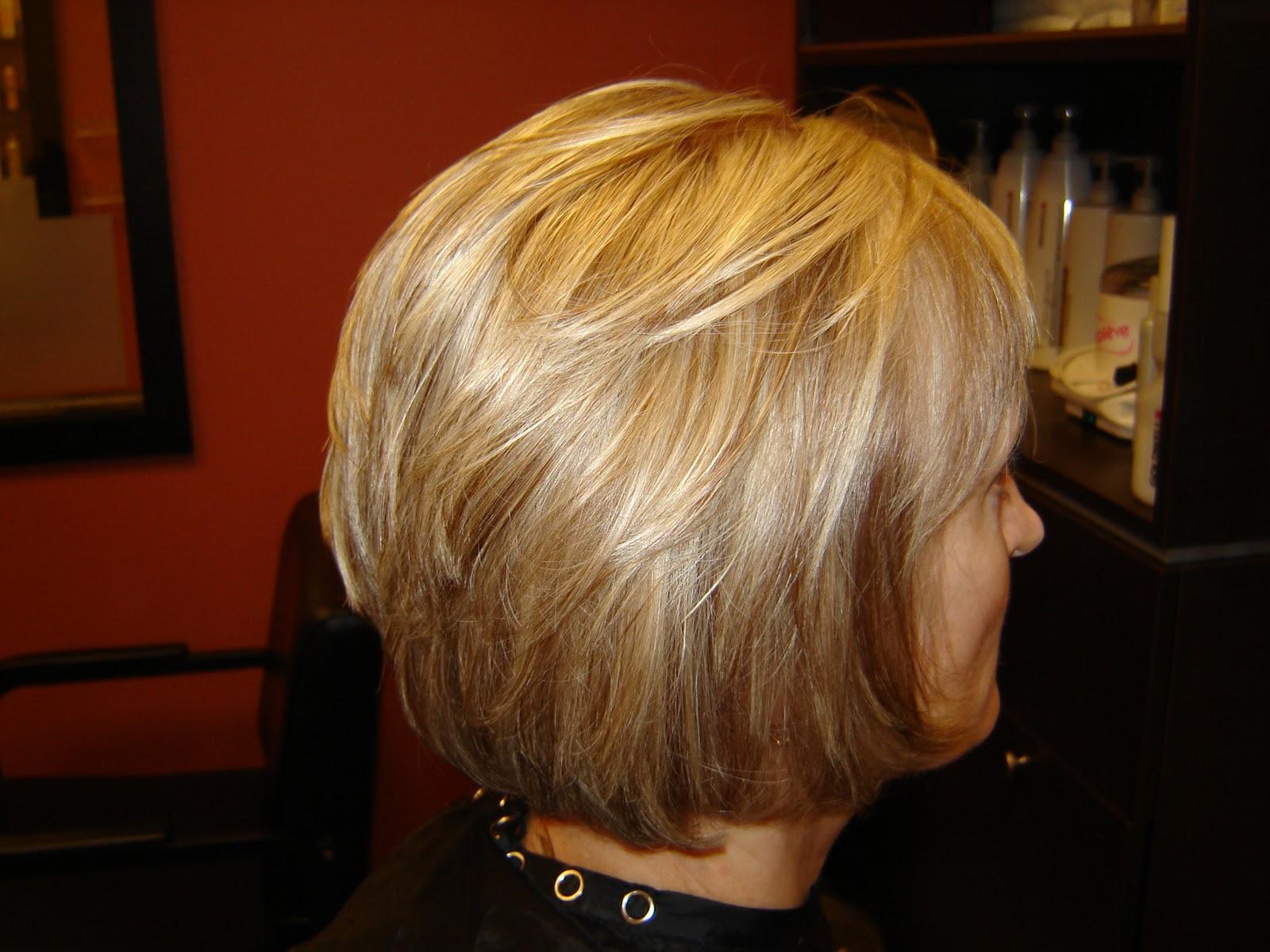 ... Kearns: Lynn Lakshas, Golden Blonde Base Color with Carmel Lowlights