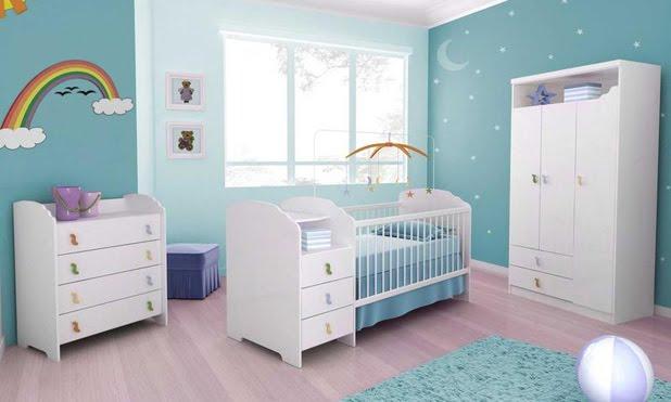 decoracao alternativa de quartos:Alternativas de Decoração Quarto Bebé