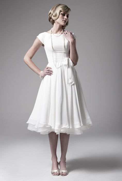 Abigail wright designs iris modest wedding dress will be for Short modest wedding dresses