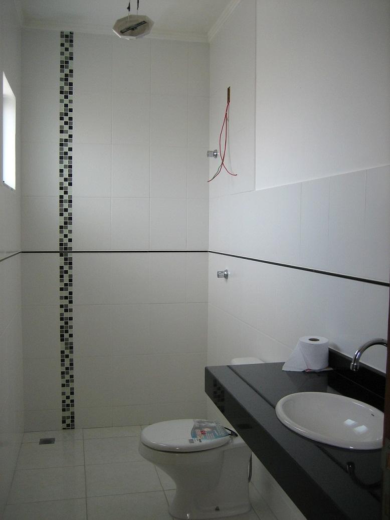 Personal Home Stylist Construção REVESTIMENTO BANHEIRO CASAL -> Banheiros Com Pastilhas Na Horizontal