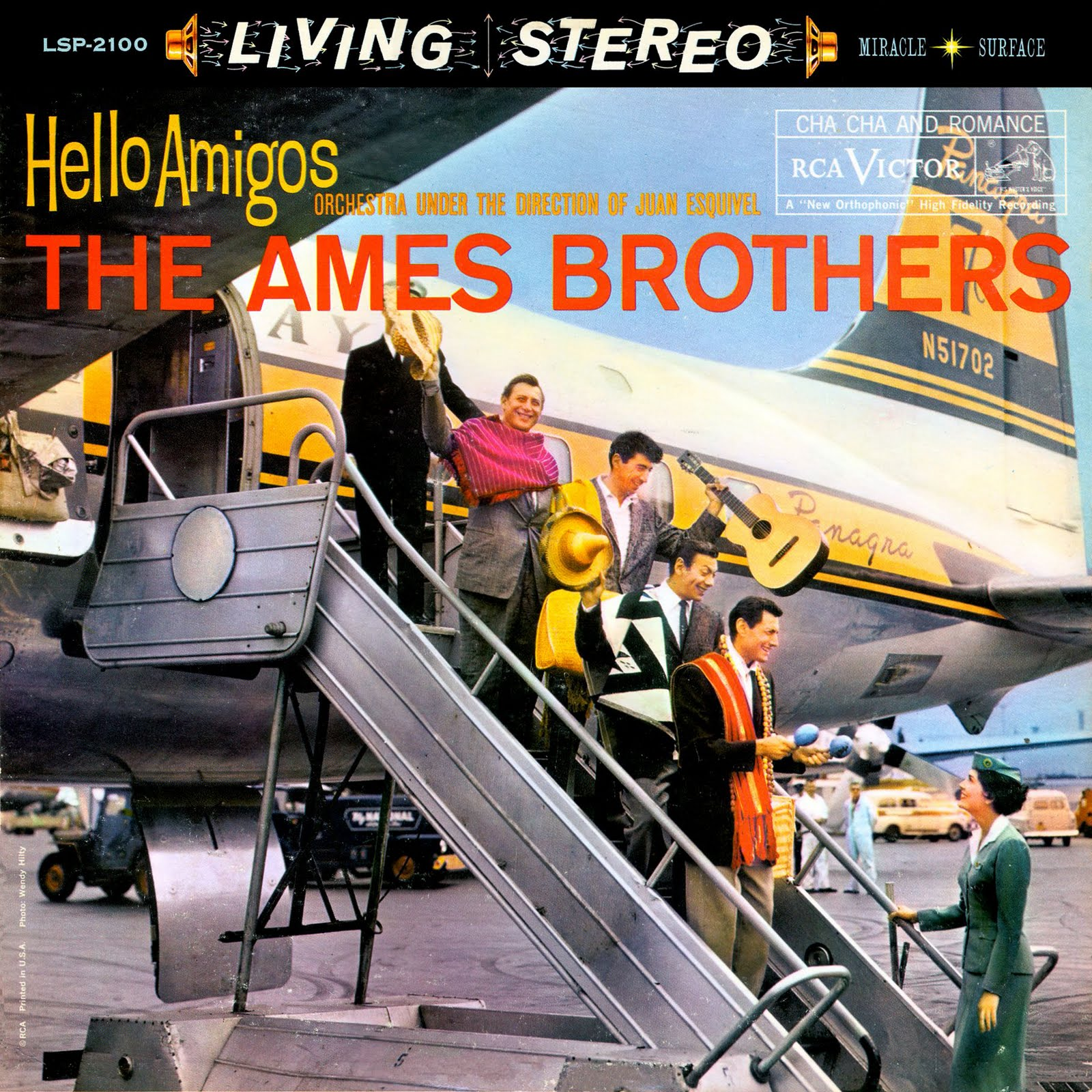 The Ames Brothers - Dancin' In The Streets