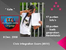 """ยินดีด้วย กับ """"น้องเกษ"""" ที่สอบผ่าน MVV  Exam ค่ะ"""