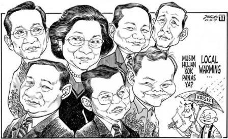 ini kumpulan para politikus dalam versi kartun
