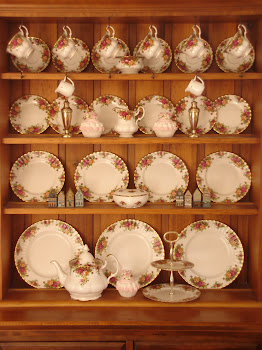 Fine China ~ one of my passions.....