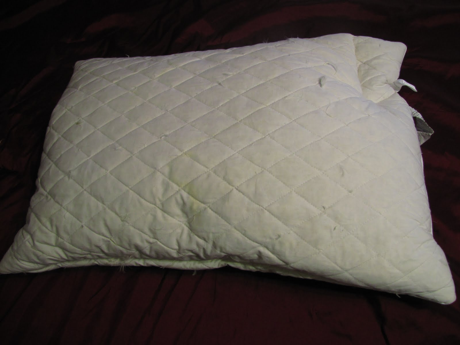 how to make your pillows fluffy again
