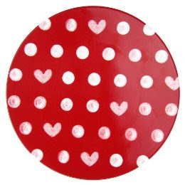 I just bought a set of these heart/dot melamine Valentine plates from Target. I love them!  sc 1 st  Whatever DeeDee Wants & Whatever Dee-Dee wants sheu0027s gonna get it: Valentine Dinnerware ...