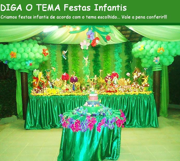 DIGA O TEMA Festas Infantis