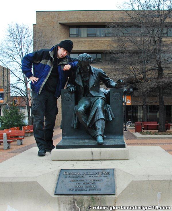 Robert Giordano and Edgar Allan Poe