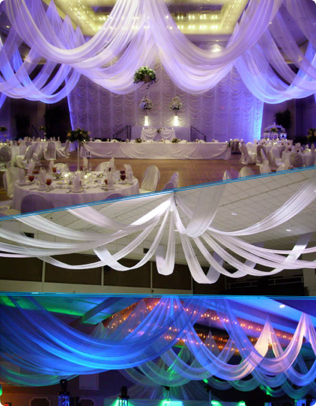 Ceiling Draping Kits - Event Decor Direct - North America's