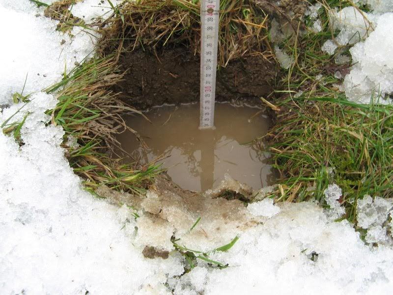 Baualarm bei rina und paddy wohin blo mit dem wasser for Boden verdichten