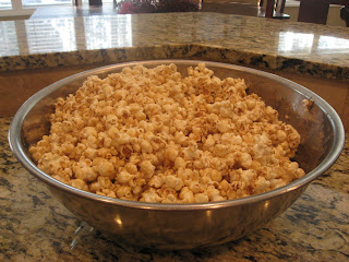 The BEST Caramel Corn Ever Recipe!  Only 4 Ingredients!