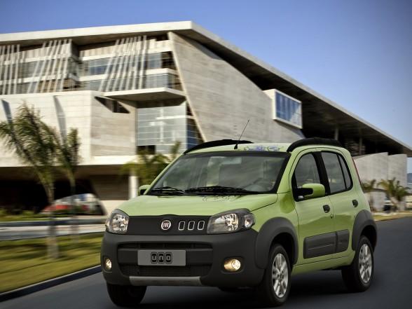 Fiat Uno 2011 Interior