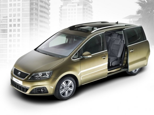 Seat Alhambra 2011. Seat Alhambra 2011 SUV Family