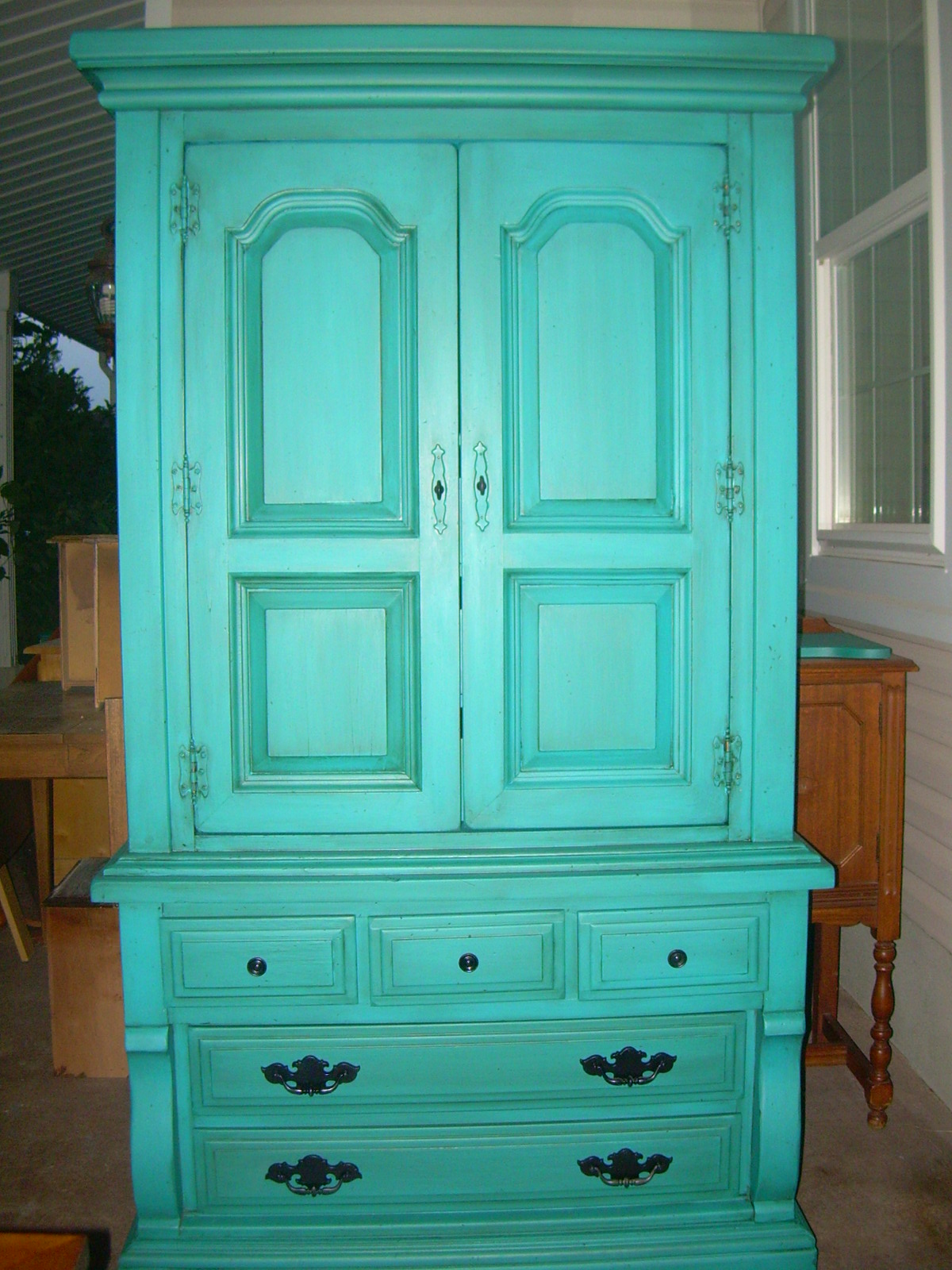 Spray Painting Wood Furniture Furniture Design Ideas