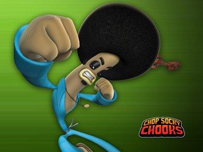 Peronaje: K.O. Joe Serie: Pollitos Kung Fu
