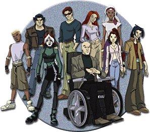 Personaje: Dr. Xavier. Serie: X Man Evolution