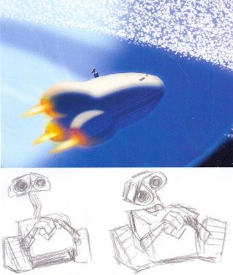 J.E. Daniels\' Animated Topics & Headlines: Wall-E Poster and Concept Art