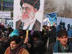 تظاهرات در کابل علیه اعدامها بوسیله رژیم فاشیست ایران