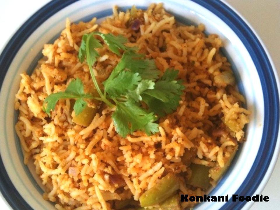 Ivy Gourd Recipe Ivy Gourd Rice Tendli Bhaat