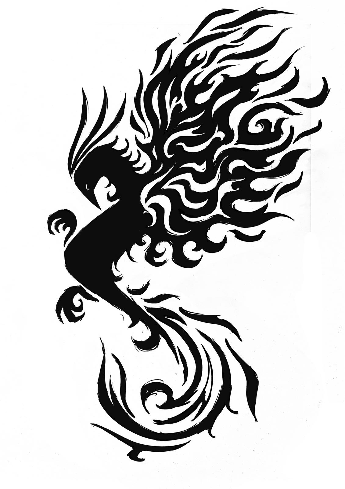 Tatoo phoenix