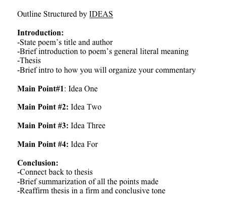 introduction thesis outline In the introduction of your thesis, you'll be trying to do three main things most thesis introductions include some (but not all) of the stages listed below.