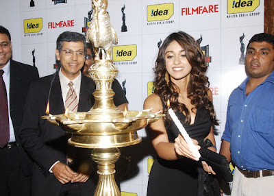 Ileana launched 56th Idea Filmfare Awards South 2008 Gallery