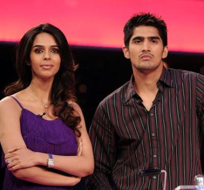Mallika Sherawat and Vijender Singh