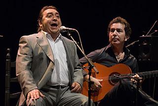 Fernando Terremoto, en una actuación en el Lope de Vega de Sevilla.