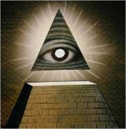 conspiracy theory - all seeing pyramid