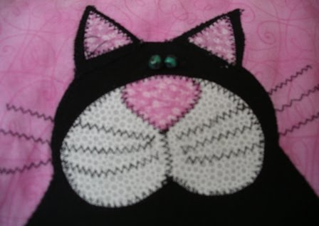 Madame Frogs Craft Blog Cat Quilt