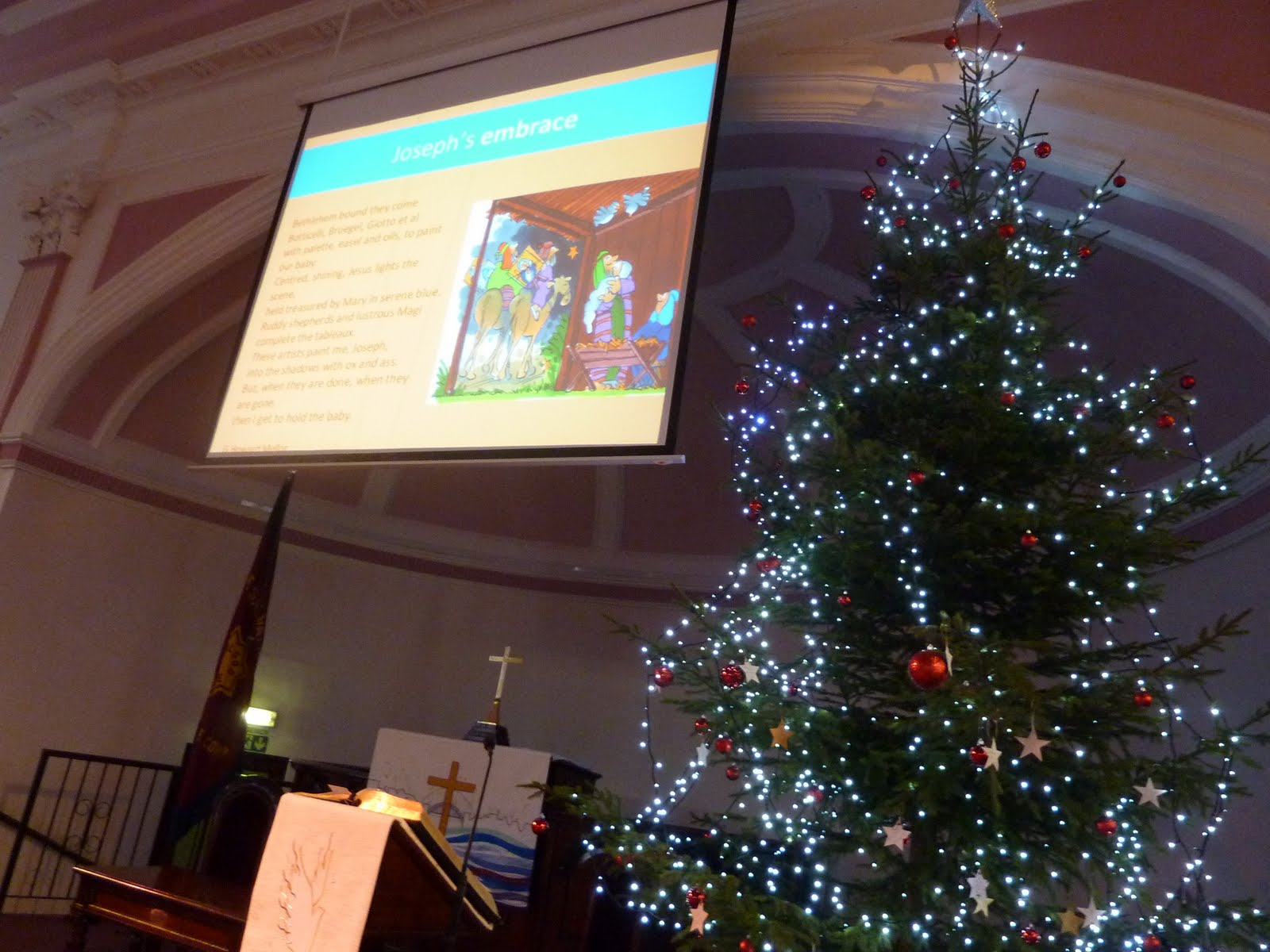 our christmas tree 15ft goes up ready for advent sunday as do all our decorations - A Christmas Story Decorations