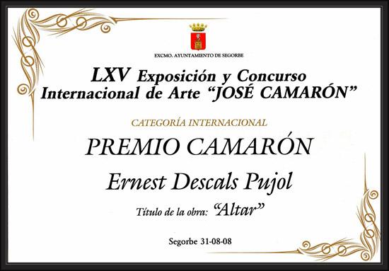 SEGORBE-CONCURSO-INTERNACIONAL-ARTE-CAMARON-ERNEST DESCALS