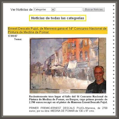 MEDINA DE POMAR-BURGOS-ERNEST DESCALS-PREMIO CONCURSO PINTURA-WEB-DE CONCURSOS